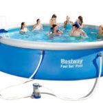 Piscine autoportante Bestway ronde Fast Set