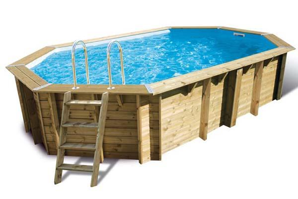 piscine bois Ubbink Sunwater