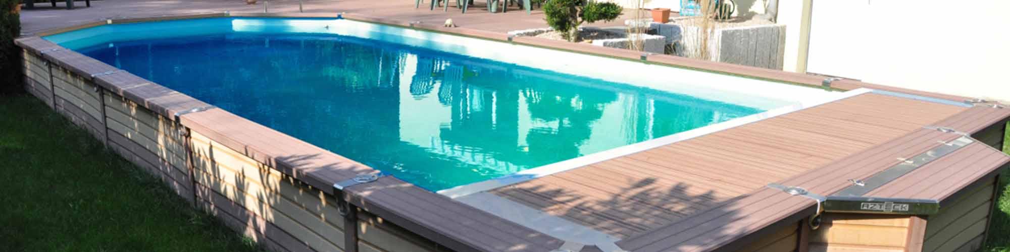 montage piscine bois semi enterre fabulous le montage des lements est en cours pour essais with. Black Bedroom Furniture Sets. Home Design Ideas