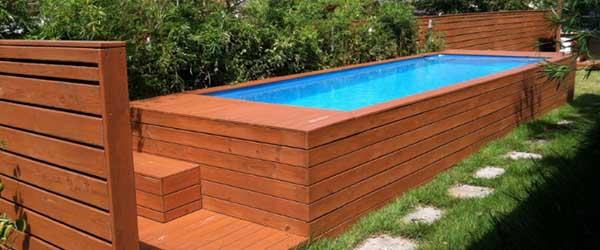 Piscine Container Un Ovni Dans Votre Jardin Conseil Piscine Fr