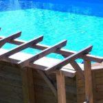 Piscine hors sol bois : modèle en bois le plus design?