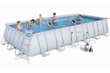piscine tubulaire Bestway grande Steel Frame