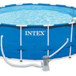 Piscine tubulaire Intex Metal Frame ronde