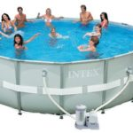 Piscine tubulaire Intex frame ultra rotonda