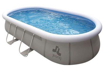 piscine tubulaire Jilong ovale