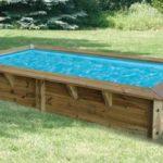 Mini piscine bois Ubbink Azura : prix, avis