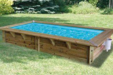 mini piscine bois Ubbink Azura