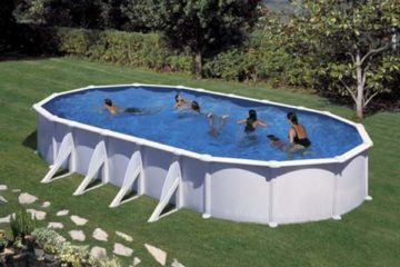 piscine acier ovale Gré Atlantis