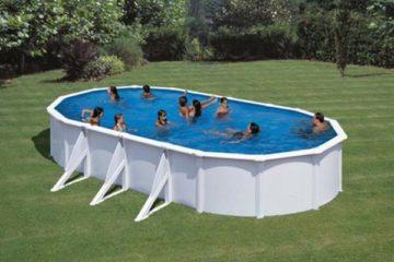 piscine acier ovale Gré Fidji