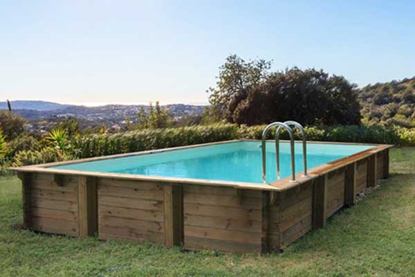 piscine bois en kit HabitatetJardin Tampa
