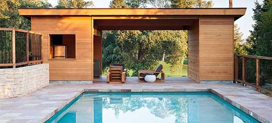 pool house praticit et design autour de votre piscine. Black Bedroom Furniture Sets. Home Design Ideas